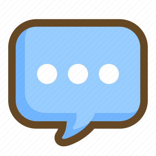bubble, chat, communication, message, silence, speech, talk icon