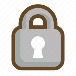 key, lock, password, protection, safe, secret, secure icon