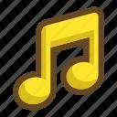 sound, note, song, volume, pleasant, happy