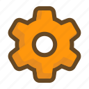 gear, option, preference, set, setting, system, tool icon