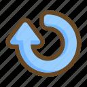 arrow, recycle, refresh, reload, reset, restart
