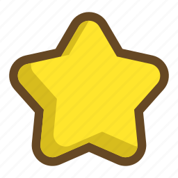 bookmark, clear, favorite, level, score, star, vote icon