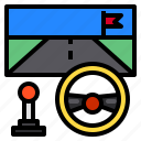 car, game, play, racing, vehicle icon