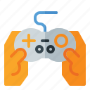 console, controller, fortnite, game, hand, playing, pubg icon