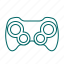 console, controller, game, gamepad, gaming, joystick icon