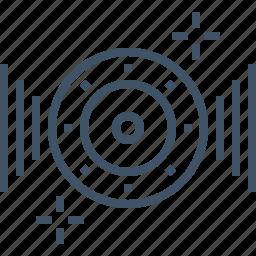 effects, music, sound, speaker, vibrant, voice icon