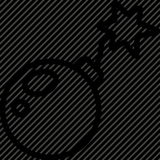 bomb, element icon