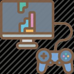 development, game, testing, video game icon