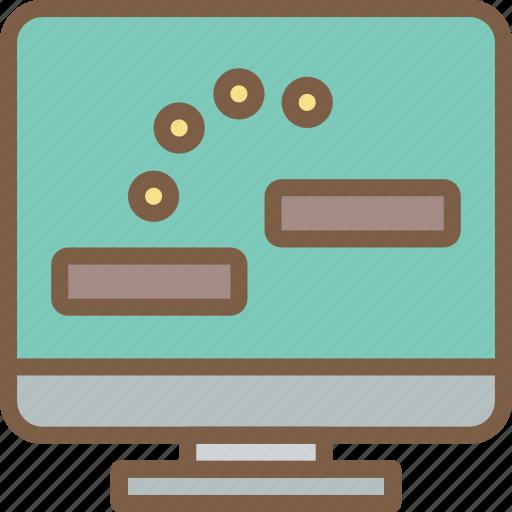 development, game, level, video game icon