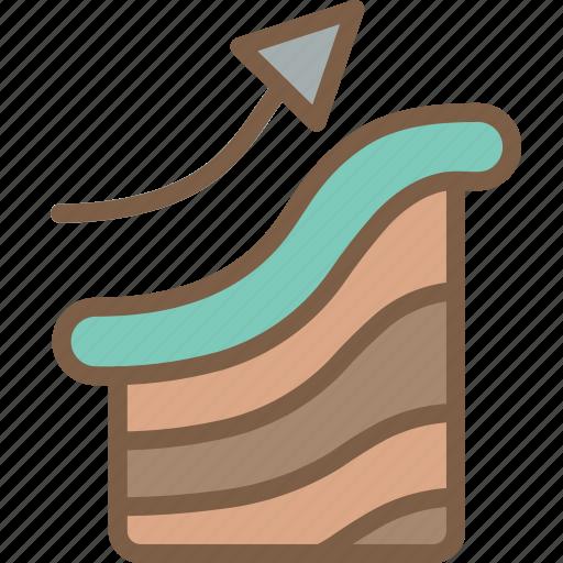 development, game, raise, terrain, video game icon