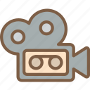 camera, development, editor, game, video game icon
