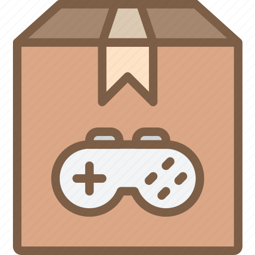 development, game, package, video game icon