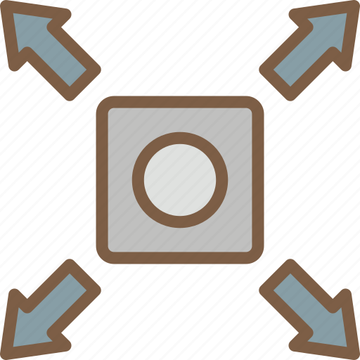 development, expand, game, object, video game icon