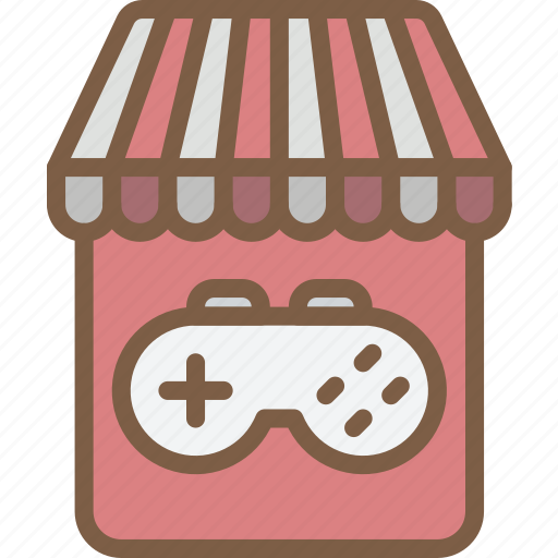 development, game, store, video game icon
