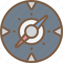 compass, development, game, video game icon