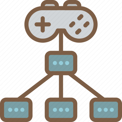 configuration, controller, development, game, video game icon