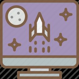 computer, development, game, video game icon