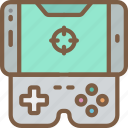 controller, development, game, mobile, video game icon
