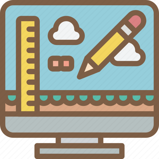 development, editor, game, level, video game icon