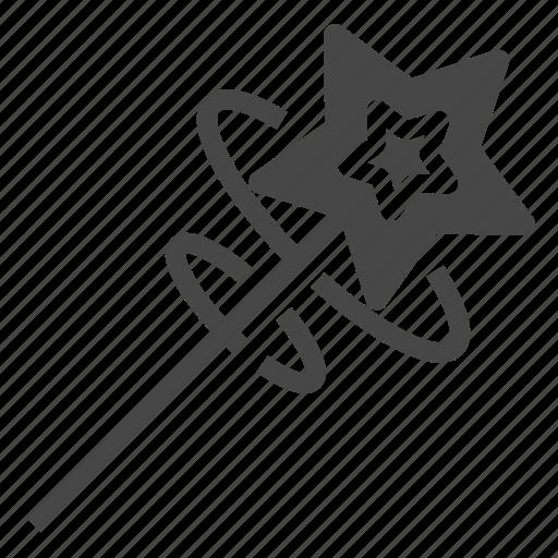 element, game, magic, wand icon
