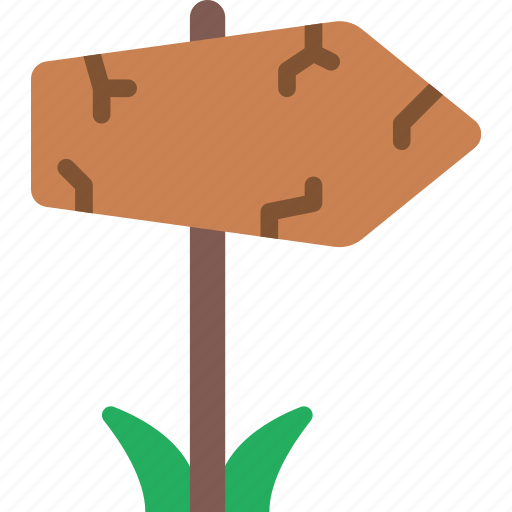 Signpost, game, element icon