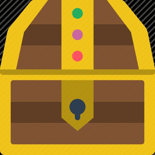 chest, element, game, treasure icon