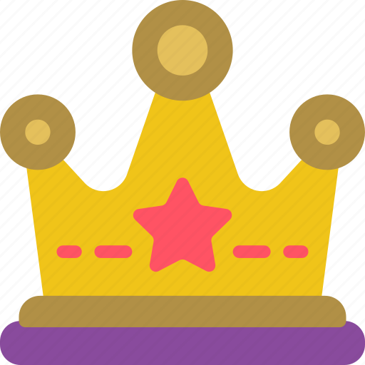 Game, crown, element icon