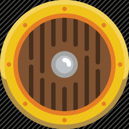Game, sheild, element icon