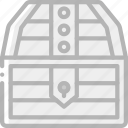 chest, element, game, treasure icon