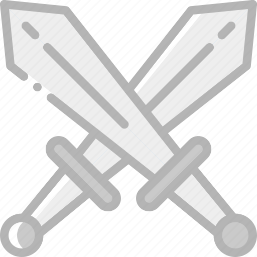 element, game, swords, two icon