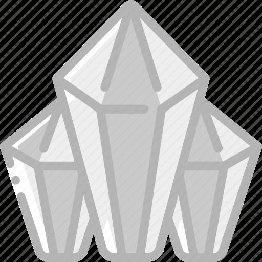 diamonds, element, game icon