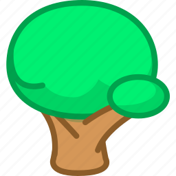 game, tree icon