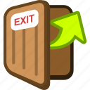 exit, game icon