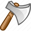 axe, game, kill icon