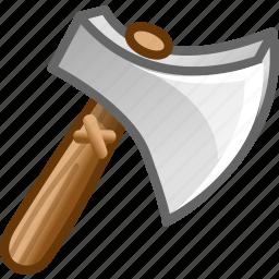 axe, game, kill icon