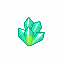 crystal, funds, game, money, resources icon