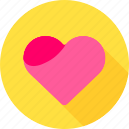 favorite, heart, life, like, love, valentine icon