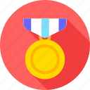 badge, medal, winner icon