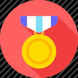 badge, medal, winner icon