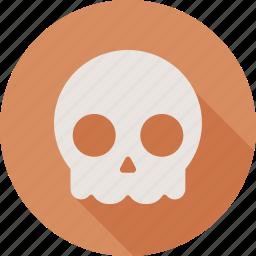 dead, death, halloween, skull icon