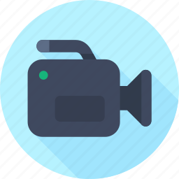 media, movie, video icon