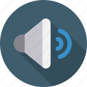 audio, sound, speaker, volume icon