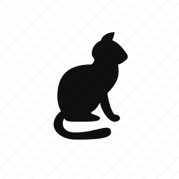 animal, animals, cat, domestic animal, kitty, pet icon