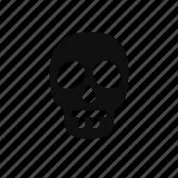 bad, barebone, bone, evil, halloween, helloween, horror, monster, scary, scull, skeleton, spooky icon