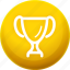 award, cup, medal, rank, victory, win icon