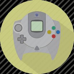 console, controller, dreamcast, game, gamepad, pad, sega icon