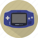console, game, gameboy, gameboyadvance, gamepad, nintendo, pad icon