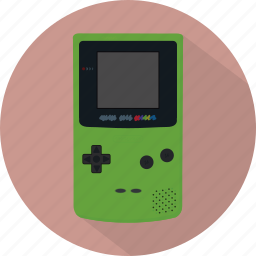 console, game, gameboy, gameboycolor, gamepad, nintendo, pad icon