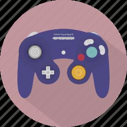 console, controller, game, gamecube, gamepad, nintendo, pad icon
