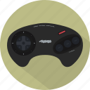game, gamepad, genesis, megadrive, pad, retro, sega icon